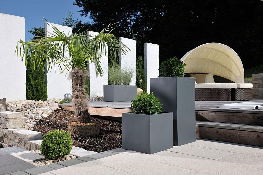 Hervorragend Blumenkübel für Außen- & Innenbereiche | TÜV geprüft ED68