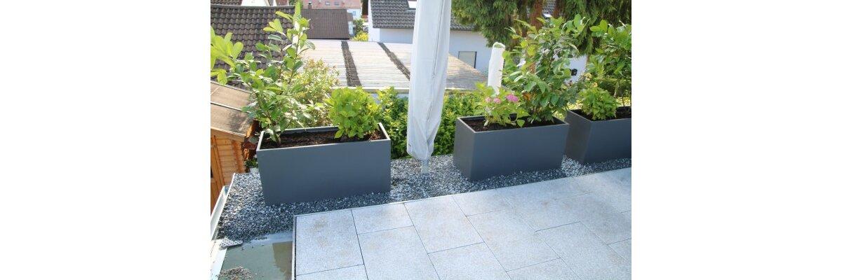 Visio 50 grau matt bei unserem Kunden Andreas & Melina R. - Impressionen des VISIO 50 Fiberglas grau matt
