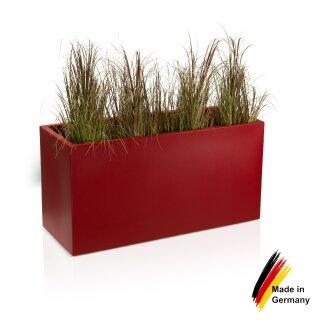Pflanztrog VISIO 50 Kunststoff rot matt