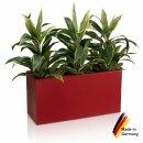 Pflanztrog VISIO 40 Kunststoff rot matt