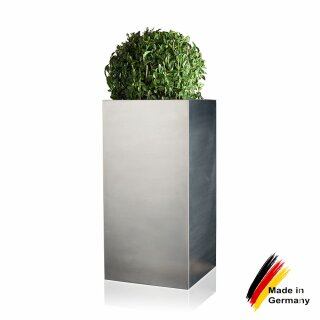 Edelstahl Pflanzgefäße Torre 60 Moderner Blumentopf