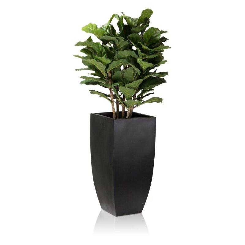 pflanzkubel-tarro-alto-70-fiberglas-schwarz-matt