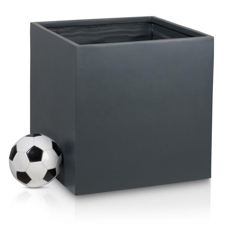 pflanzkubel-cubo-60-fiberglas-grau-matt