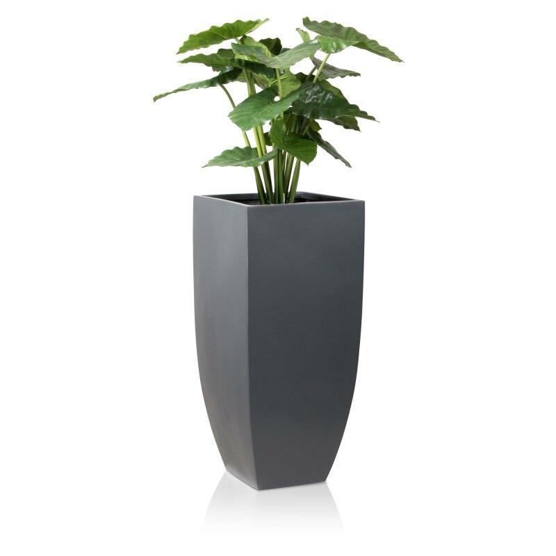 pflanzkubel-tarro-alto-90-fiberglas-grau-matt
