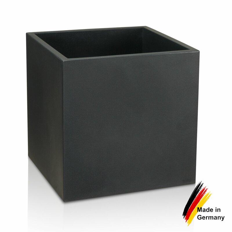 pflanzk bel kunststoff cubo 60 blumenk bel anthrazit. Black Bedroom Furniture Sets. Home Design Ideas