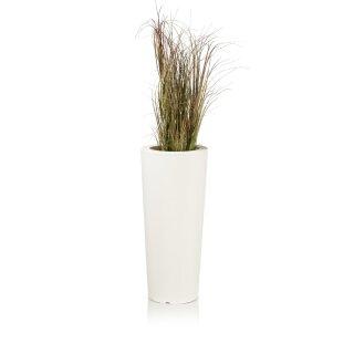 Pflanzkübel CONO 68 Kunststoff weiß matt