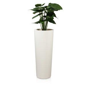 Pflanzkübel CONO 110 Kunststoff weiß matt