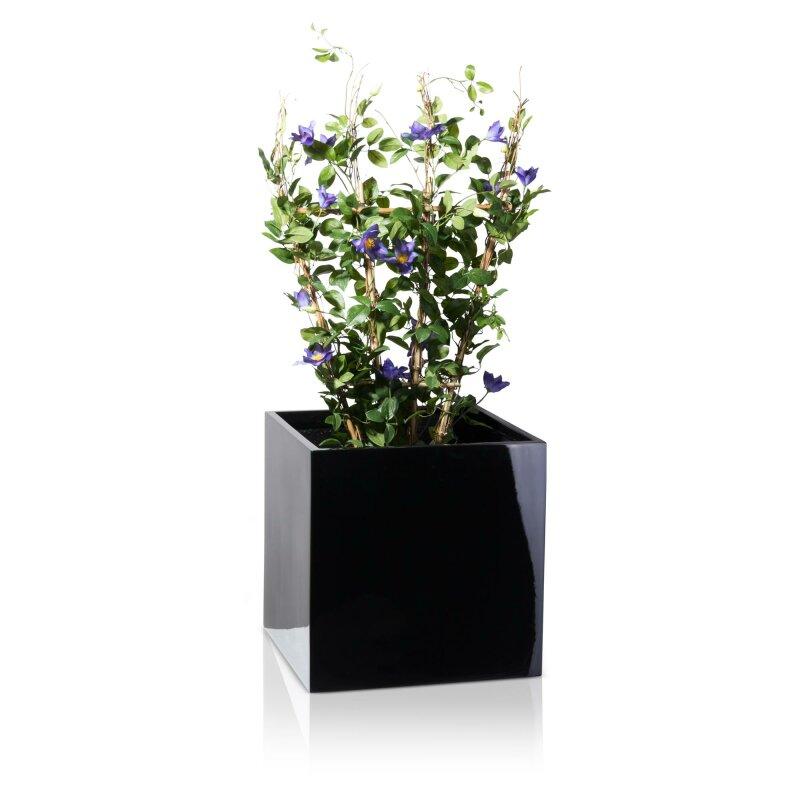 pflanzkubel-cubo-50-fiberglas-schwarz-hochglanz