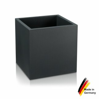 pflanzk bel kunststoff cubo 50 blumenk bel anthrazit. Black Bedroom Furniture Sets. Home Design Ideas